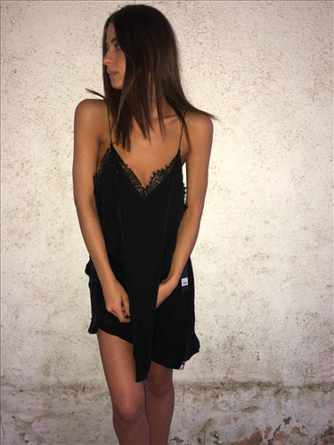 ELIRIOUS SLIP DRESS