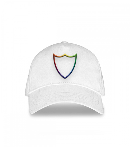 HTC- RAINBOW BASEBALL CAP RED/WHITE